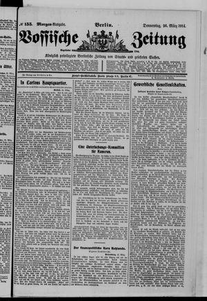Vossische Zeitung vom 26.03.1914