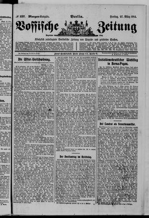 Vossische Zeitung vom 27.03.1914
