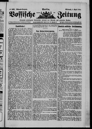 Vossische Zeitung vom 01.04.1914