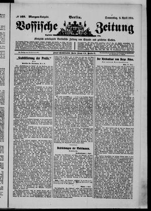 Vossische Zeitung vom 02.04.1914