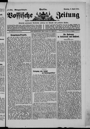 Vossische Zeitung vom 05.04.1914