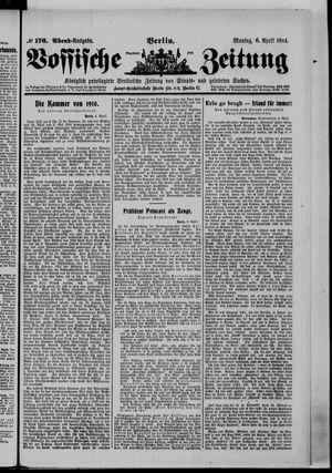 Vossische Zeitung vom 06.04.1914