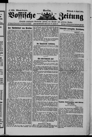 Vossische Zeitung vom 08.04.1914