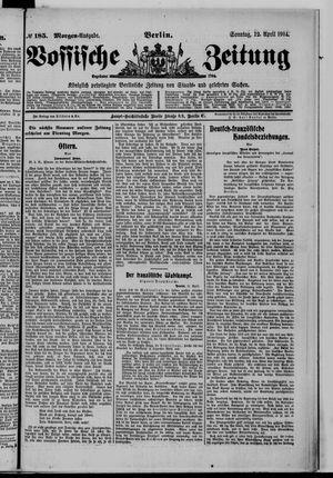 Vossische Zeitung vom 12.04.1914