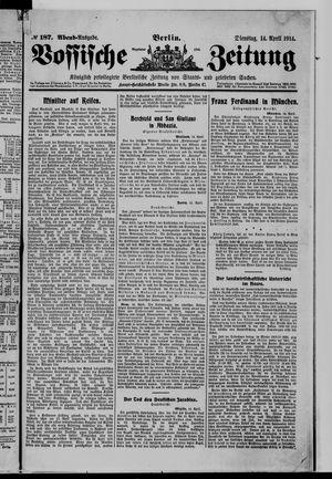 Vossische Zeitung vom 14.04.1914