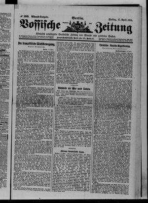 Vossische Zeitung vom 17.04.1914