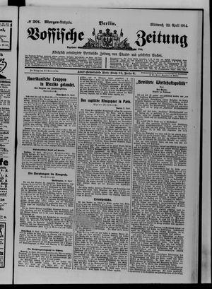 Vossische Zeitung vom 22.04.1914