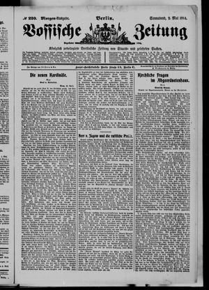 Vossische Zeitung vom 02.05.1914