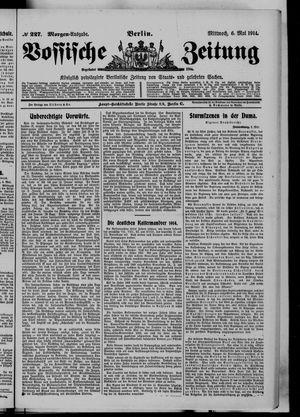 Vossische Zeitung vom 06.05.1914
