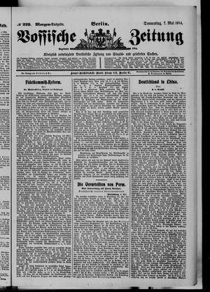 Vossische Zeitung vom 07.05.1914