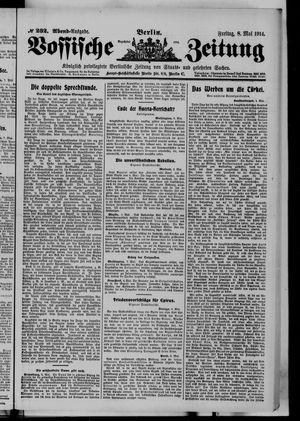 Vossische Zeitung vom 08.05.1914