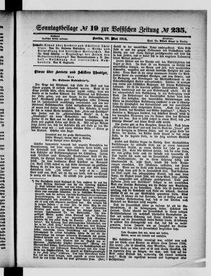 Vossische Zeitung vom 10.05.1914