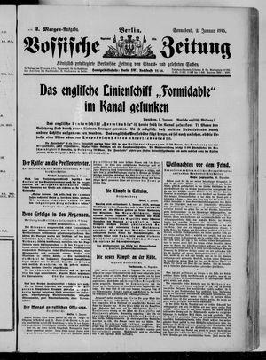 Vossische Zeitung vom 02.01.1915
