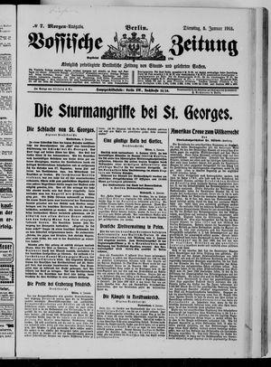 Vossische Zeitung vom 05.01.1915