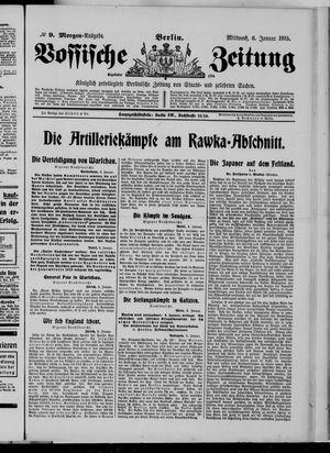 Vossische Zeitung vom 06.01.1915