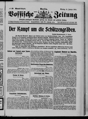 Vossische Zeitung vom 11.01.1915