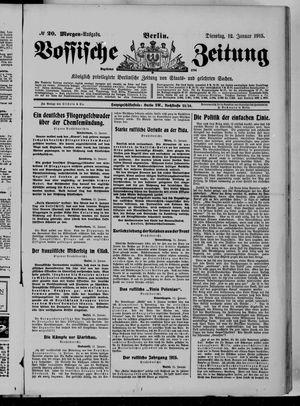Vossische Zeitung vom 12.01.1915