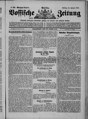 Vossische Zeitung vom 15.01.1915