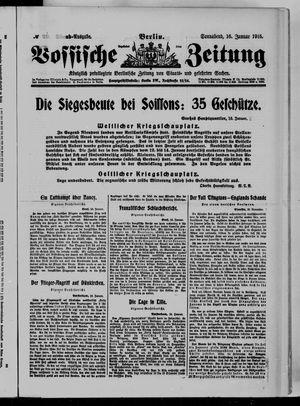 Vossische Zeitung vom 16.01.1915