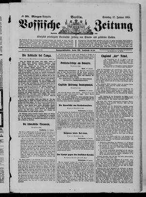 Vossische Zeitung vom 17.01.1915