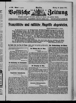 Vossische Zeitung vom 18.01.1915