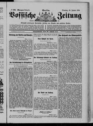 Vossische Zeitung vom 19.01.1915