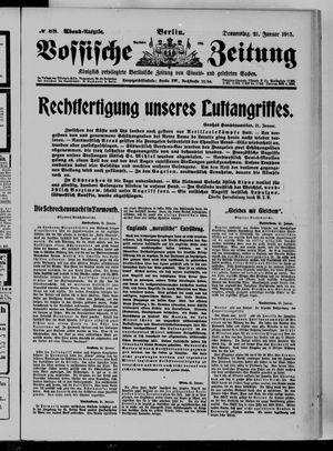 Vossische Zeitung vom 21.01.1915
