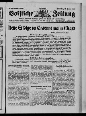 Vossische Zeitung vom 28.01.1915