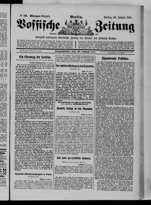 Vossische Zeitung vom 29.01.1915