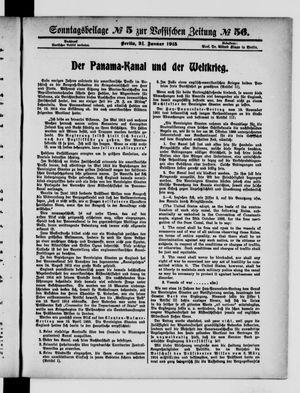 Vossische Zeitung vom 31.01.1915