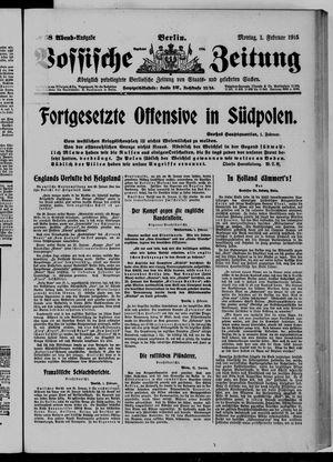 Vossische Zeitung vom 01.02.1915