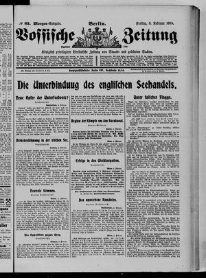 Vossische Zeitung vom 05.02.1915