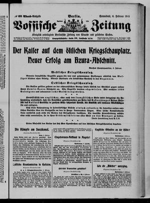 Vossische Zeitung vom 06.02.1915