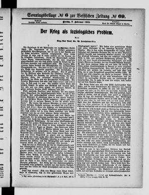 Vossische Zeitung vom 07.02.1915
