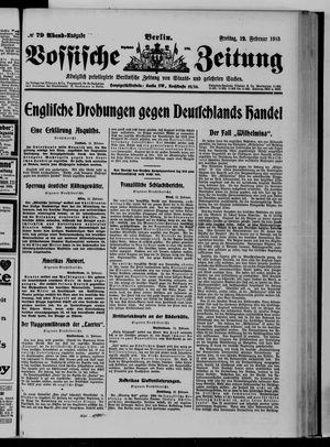 Vossische Zeitung vom 12.02.1915