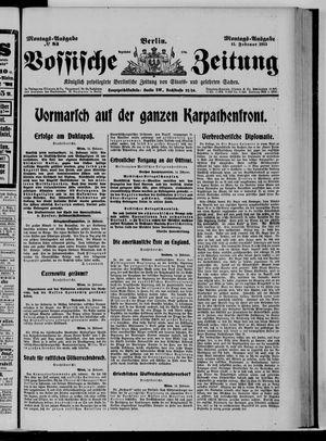 Vossische Zeitung vom 15.02.1915