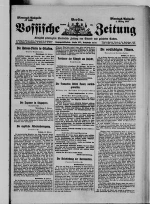 Vossische Zeitung on Mar 1, 1915
