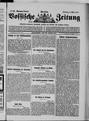 Vossische Zeitung vom 02.03.1915