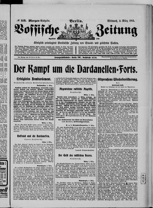 Vossische Zeitung vom 03.03.1915