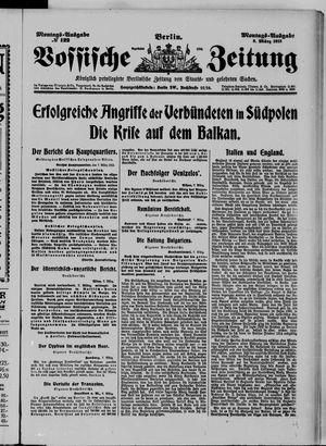 Vossische Zeitung vom 08.03.1915