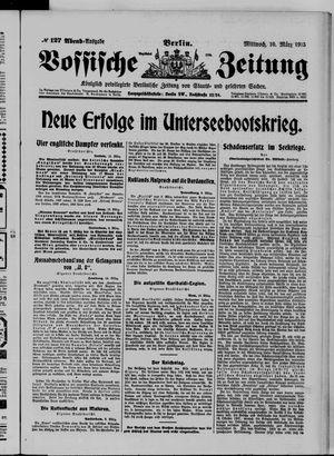 Vossische Zeitung vom 10.03.1915