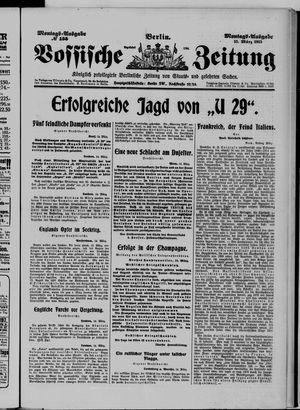 Vossische Zeitung vom 15.03.1915