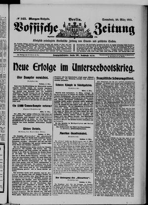 Vossische Zeitung vom 20.03.1915