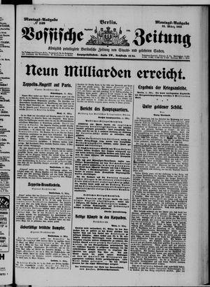 Vossische Zeitung on Mar 22, 1915
