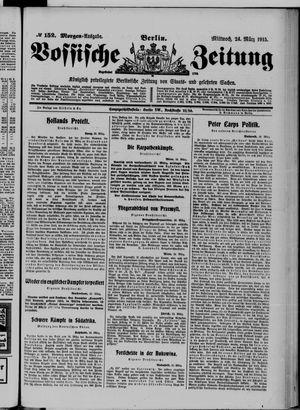 Vossische Zeitung vom 24.03.1915