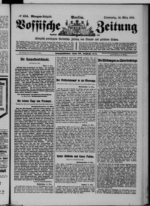 Vossische Zeitung vom 25.03.1915