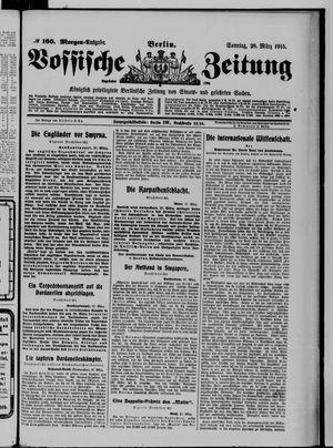 Vossische Zeitung vom 28.03.1915