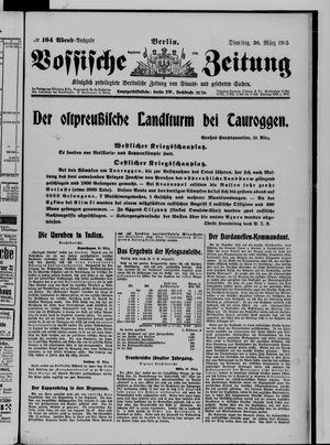 Vossische Zeitung on Mar 30, 1915