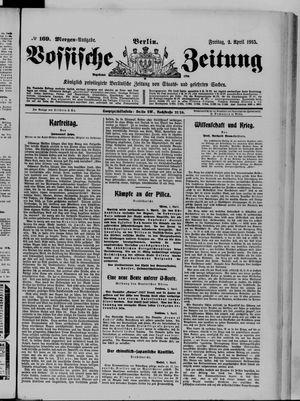 Vossische Zeitung vom 02.04.1915