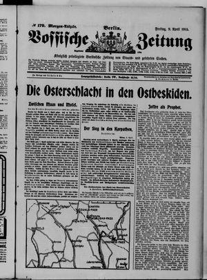 Vossische Zeitung vom 09.04.1915